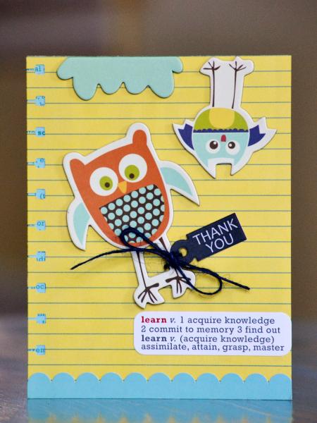 Teacher Thank You Card Vivian Masket