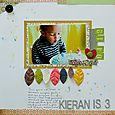 Kieran Is 3 | Francine Clouden