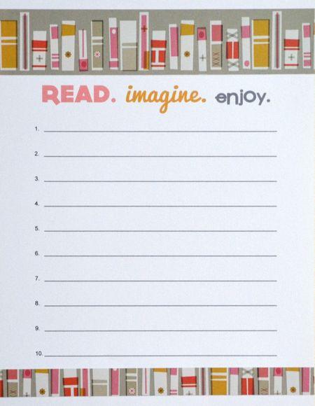 Girl Read Imagine Enjoy