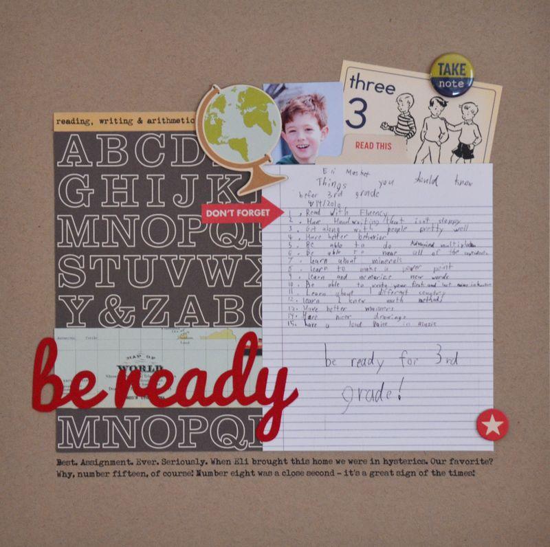 Be Ready - Vivian Masket