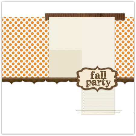 Fallparty write click scrapbook