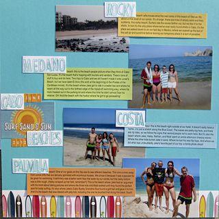 Vacation summary beaches