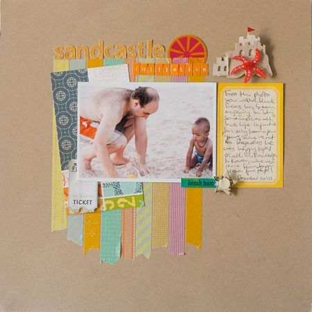 Francine washi layout