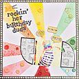 Rockin' Her Birthday Duds   Sarah Pendergrast