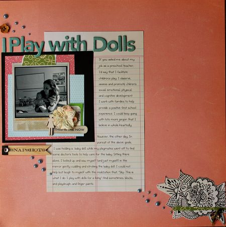 Iplay with dolls 2