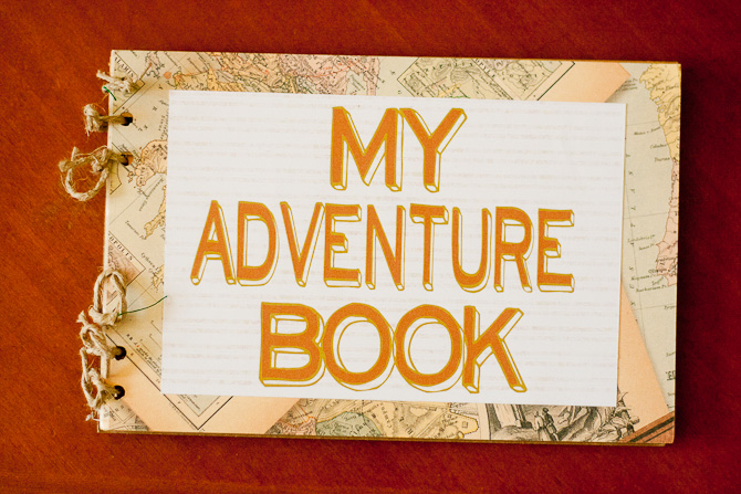 Francine Map Paper Adventure Book