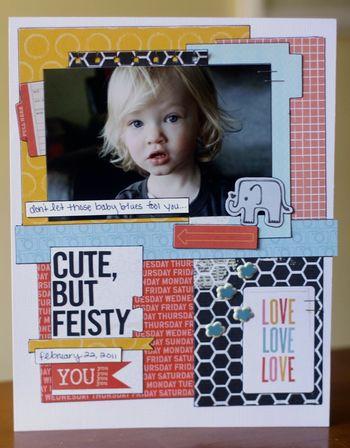 Cute But Feisty  Emily Spahn