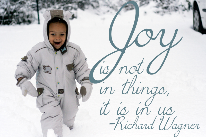 Subday Photo & Words - Joy