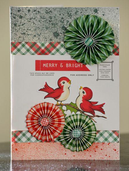 Merry & Bright Card - WCS Vivian Masket