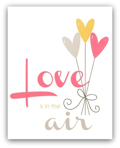 Love is in the air writeclickscrapbook