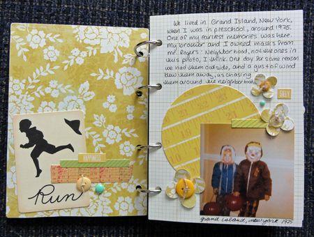 My Life mini page 1