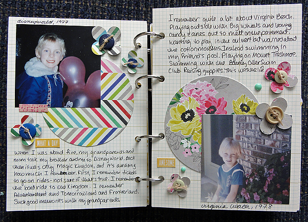My Life mini pages 2-3