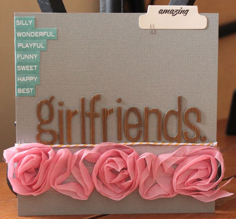 Girlfriends mini cover