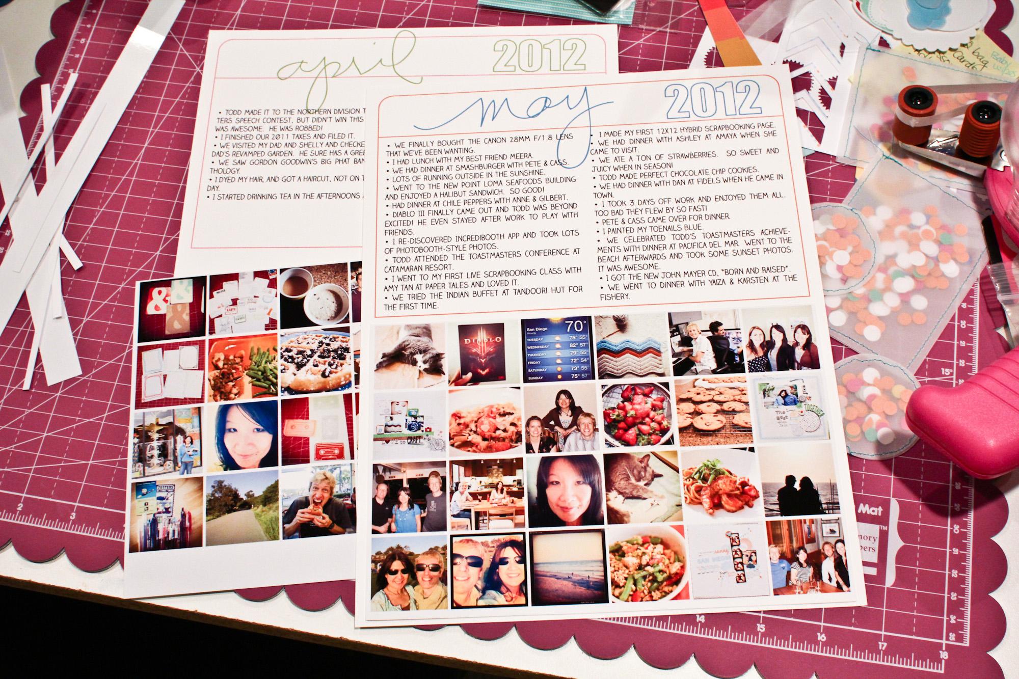 Scrapbook ideas about life - Christinenewman_5