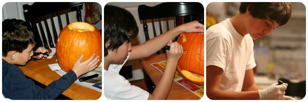 Carving_pumpkins_writeclickscrapbook