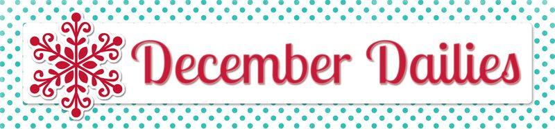 December Dailies 2012 Banner