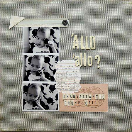 Little Black Dress January - Allo allo