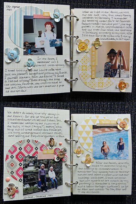 My Life mini pages 12-15