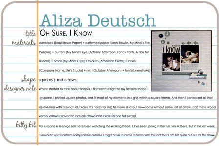 Shapes gallery aliza deutsch write click scrapbook