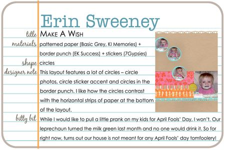 Shapes gallery erin sweeney write click scrapbook
