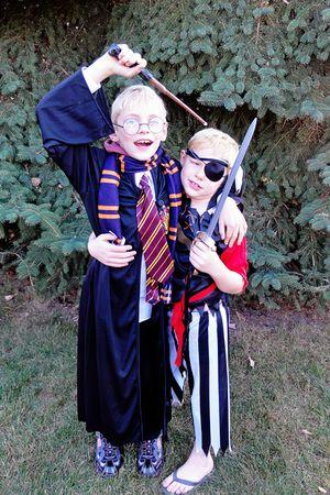 Boys Halloween 2011