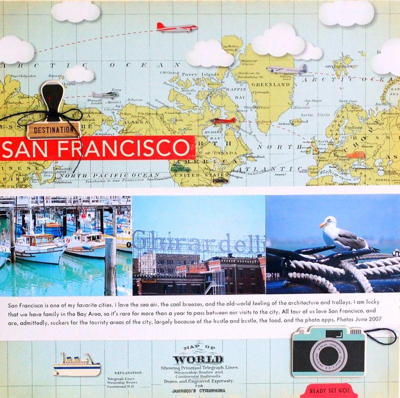 San Francisco - Vivian Masket