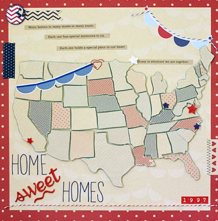 Christa Paustenbaugh Layout Home Sweet Homes