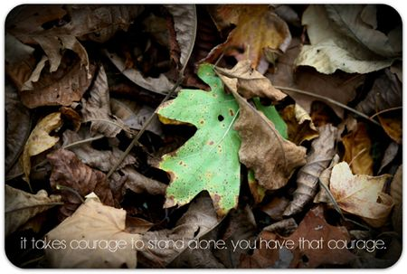 Courage write click scrapbook sunday photo and quote