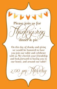 Thanksgiving invite write click scrapbook