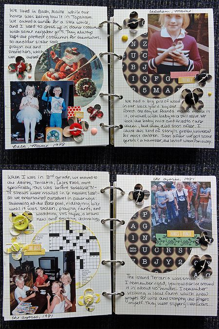 My Life mini pages 8-11
