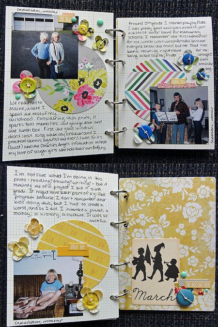 My Life mini pages 16-18