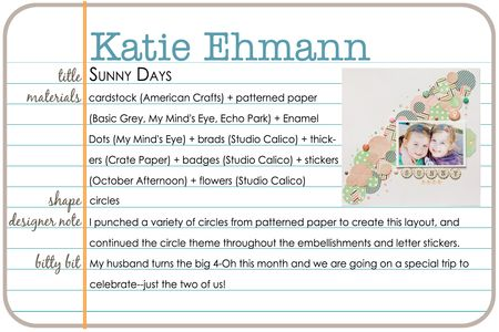 Shapes gallery katie ehmann write click scrapbook