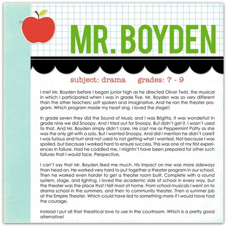 Mr boyden