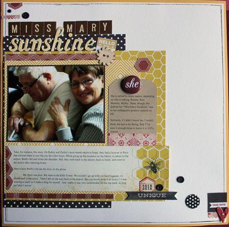 Miss mary sunshine