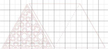 Triangle card by loni harris