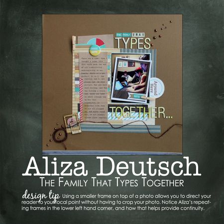 Aliza deutsch write click scrapbook