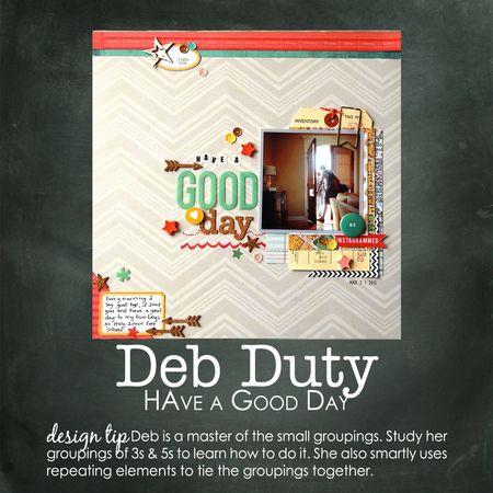 Deb duty write click scrapbook