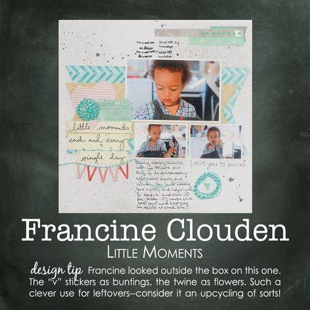 Francine clouden write click scrapbook