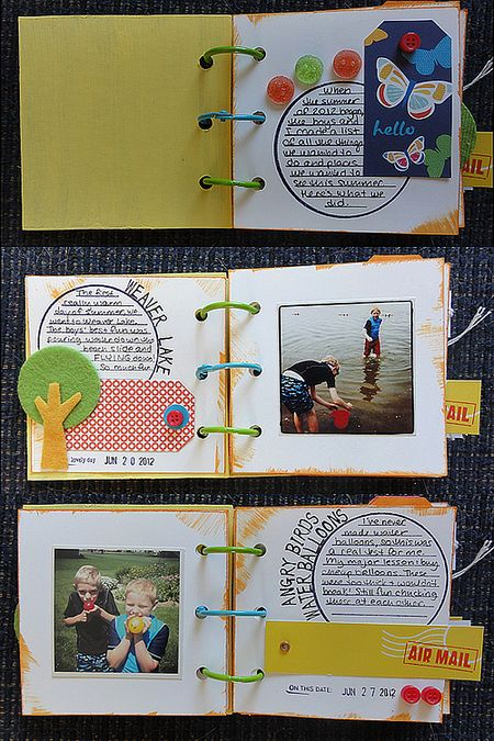 Bucket List Mini Pages set 1