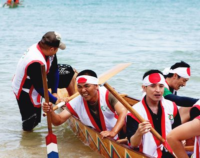 Japan team dragon boat