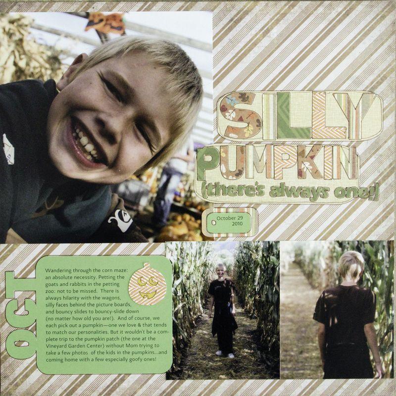 Amy sorensen silly pumpkin