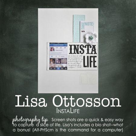 Lisa ottosson write click scrapbook