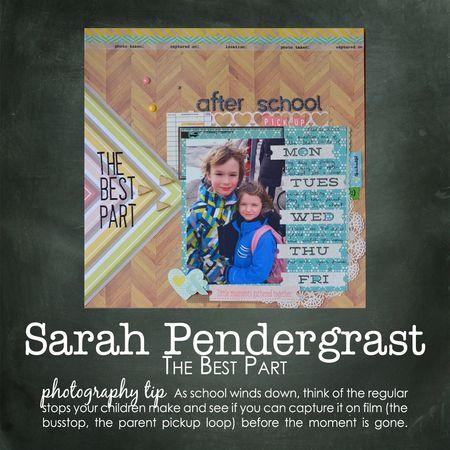 Sarah pendergrast write click scrapbook
