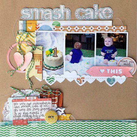 Tsk june smash cake