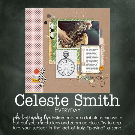 Celeste smith write click scrapbook