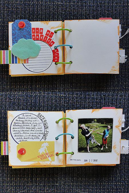 Bucket List mini pages set 2