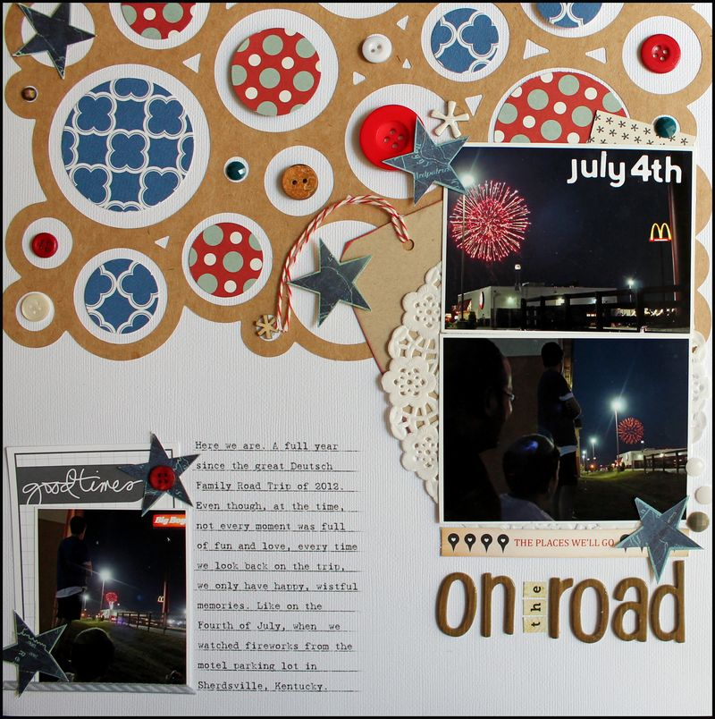 JULY 4TH ON THE ROAD
