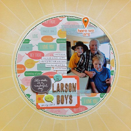 Larson Boys by Jennifer Larson