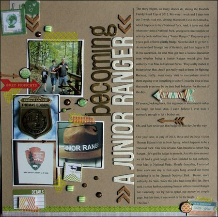 Becoming a junior ranger cd