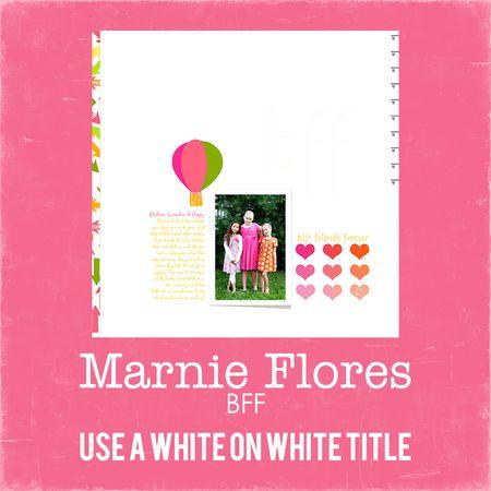Marnie flores write click scrapbook